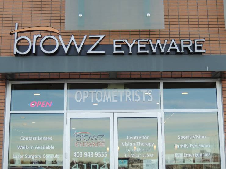 Airdrie Eye Doctor Browz